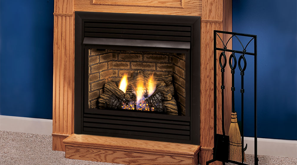 DFX Series Vent Free Gas Fireplace | Heritage Fireplace ...