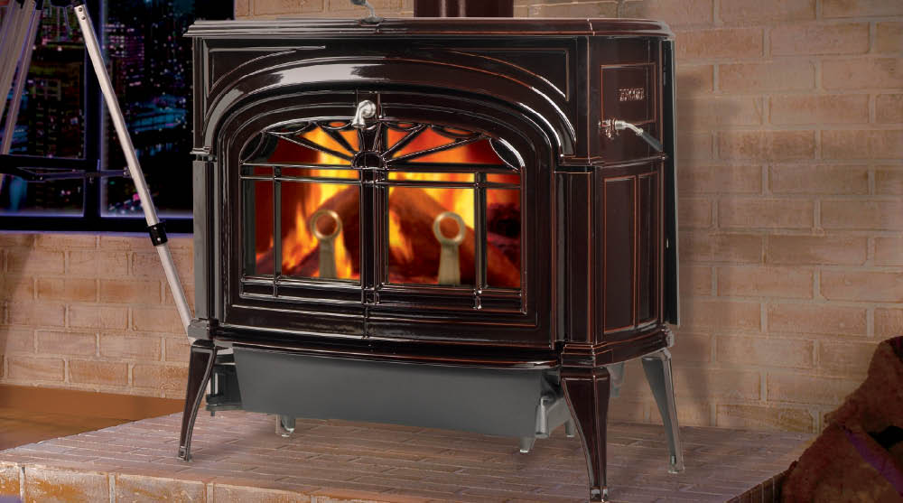 Encore 174 Two In One Wood Burning Stove Heritage Fireplace