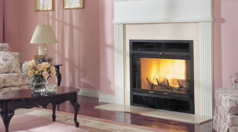 Warm Majic Wood Burning Fireplace Heritage Fireplace